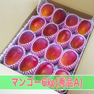 マンゴー 秀品A 6kg箱|kedoku-mango