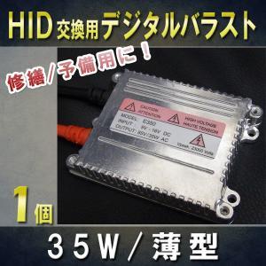 HID交換用バラスト 35W 薄型 ×1個 /補修・交換に デジタルバラスト|keduka