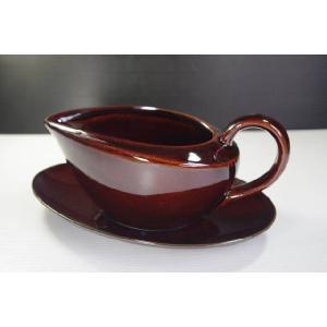 MIKASA Sedona Brown Gravy Boat茶色MK136/242★アウトレット品★|keepintouch