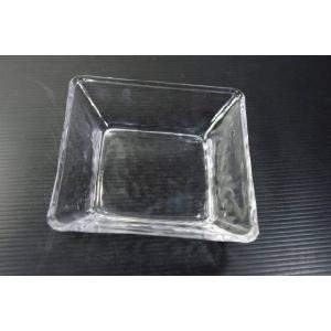 ガラス・スクエア11.3cm角浅鉢 SMK★アウトレット品★|keepintouch