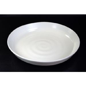 Moistクリーム21.8cmパスタ皿★アウトレット品こみ★ DTT keepintouch