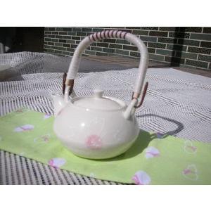和食器白い食器・桜ミニ土瓶53mm網★アウトレット品★|keepintouch