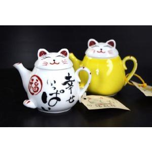 風水・有田焼招き猫ドレッシングポット・醤油入れ★アウトレット品こみ★|keepintouch