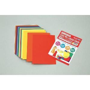 混色カードいろがみ アクリルガッシュ色 全120色 12983  (メール便可能)|keepon