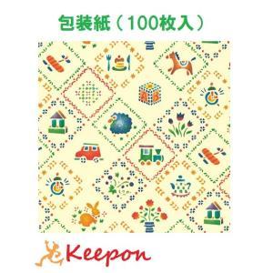 包装紙 ステンシルハウス(100枚入)シモジマ ラッピング用紙 ラッピング用品 ラッピング かわいい|keepon