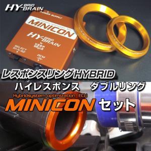 ホンダ シャトルハイブリッドGP7/8用 レスポンスリング ダブルリング&MINICONセット|keepsmile-store