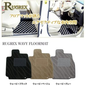 RUGREX ウェービーフロアマット トヨタ アルファード20系ステップマット4枚セット|keepsmile-store