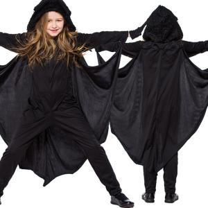 商品名 ハロウィン 衣装 子供 コウモリ 素材 ポリエステル95%、その他5% カラー 写真通り  ...