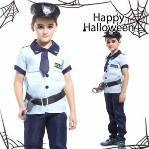 商品名 ハロウィン 衣装 子供 警官 警察官 素材 ポリエステル95%、その他5% カラー 写真色 ...