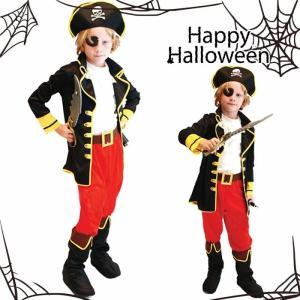 商品名 ハロウィン 衣装 子供 海賊 コスプレ 素材 ポリエステル95% その他5% カラー 写真色...