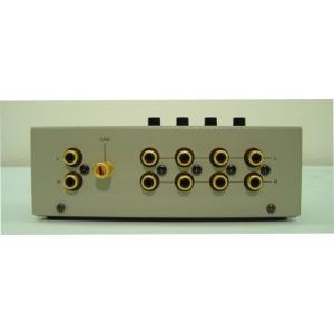 ラックスマン ラインセレクター (1台 シルバーグレー W:160xD:95xH:65mm 530g) AS-4III|keiandk
