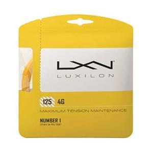 LUXILON(ルキシロン) テニス ストリング ガット 4G 125 ゴールド WRZ997110