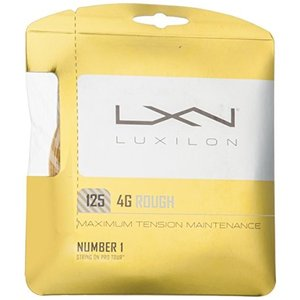 LUXILON(ルキシロン) テニス ストリング ガット 4G ROUGH 125(4G ラフ 12...