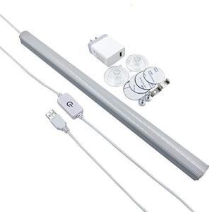 LEDバーライト 高輝度 10W 1000lm 60W形相当 42LED 35cm 無段階調光式 改良版「多用途 USBライト、LED蛍光灯、ledデ|keiandk
