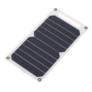 Lixada ソーラー充電器10W ポータブル 超薄 単結晶 シリコン ソーラーパネル 5V USBポート 高効率 キャンプ 乗馬 屋外活動 照明の使|keiandk