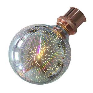 SUNDY 3D花火電球 E26 口金 110V 1.5W LED 2000-2200K 発光角360° スパークル ランプ レストランバー 結婚式用|keiandk