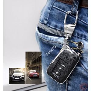 本革レザースマートキーケースカバー適合レクサスLexus ES250 IS250 GS350 GS450H車用 keiandk