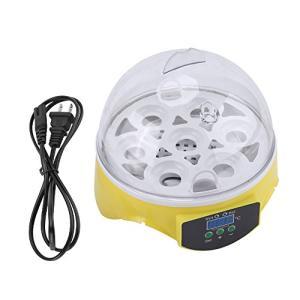 ミニ デジタル 孵卵機 7卵 卵の孵化機 自動温度制御 鳥類専用孵卵器 簡単操作 マイクロインキュベー シ アヒル ガチョウ ウズラ 鶏など|keiandk