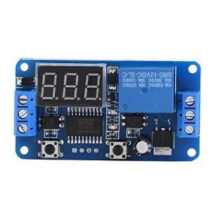 時間遅延モジュールLEDディスプレイデジタルタイマーリレーPLCオートメーションコントロールスイッチモジュール(12V)|keiandk