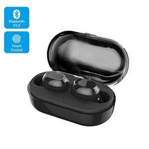 【2019最新版 Bluetooth 5.0 】 Bluetooth イヤホン ワイヤレスイヤホン EDR搭載 3Dステレオサウンド/小型 軽量/ I|keiandk