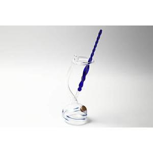 ガラスペン つけペン 万年筆 透明 (インク壷 付属)|keiandk