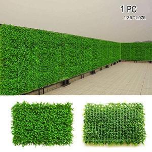 人工壁の芝生,人工ツゲの木パネル生垣植物人工の緑の塀のパネル 緑|keiandk