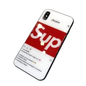 iPhoneケース アイフォン スマホケース取り外しが簡単 背面ガラス 鏡面 ミラー TPU 光沢 オシャレ衝撃保護ケース 落下防止 RED (iPh|keiandk