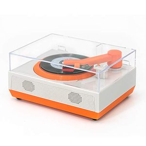 【2020最新版】M MUSIC PUBLIC KINGDOM レコードプレーヤー スピーカー内蔵 Bluetooth対応 ヘッドホンジャック付き 3|keiandk