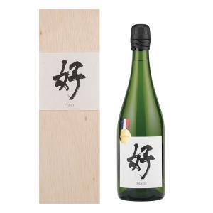 桂月 スパークリング酒 好(Hao) (750ml) 日本酒 土佐酒造 高知県【贈答用:木箱入】|keigetsu