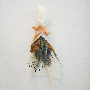 オータムスワッグ A おまかせ 壁飾り おうちフラワー ドライフラワー ギフト プレゼント|keihan-engei