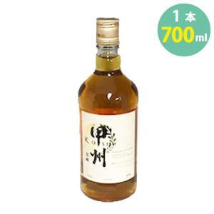 富永 甲州韮崎ピュアモルトウイスキーwhisky 40° 700ml