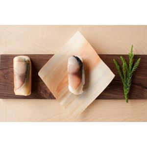 日本唯一、杉で包む鯖寿司『杉鮓 』|keihoku-suehiro