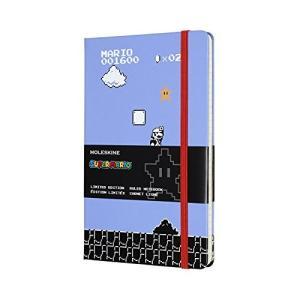 モレスキン ノートブック 限定版 スーパーマリオ フル ゲームラージ 罫線