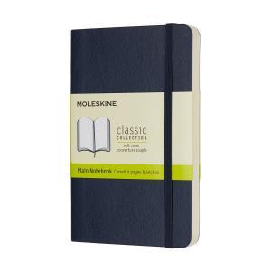 モレスキン ノートブック カラーノート プレーン(無地) ソフト ポケット サファイアブルー QP6...