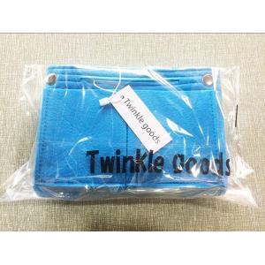 Twinkle goods (ツインクルグッズ) バッグインバッグ インナーバッグ フェルト 軽量 ...