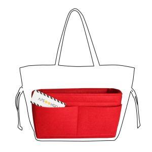 APSOONSELL Felt Bag Organizer Bag in Bag Insert バッ...