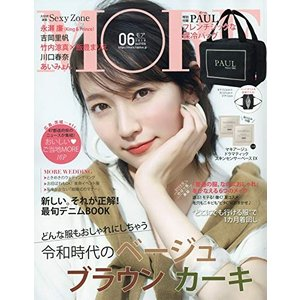 MORE(モア)2019年6月号 付録:PAUL フレンチシックな保冷バッグ 雑誌