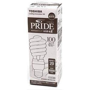 東芝 TOSHIBA PRIDE ネオボールZ 電球形蛍光灯 E26口金 100ワット形 電球色 消費電力 20ワット EFD25EL/20|keihouse