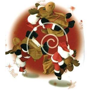 くるりん 宙返り サンタクロース サウンドと共に歩きくるんと宙返りする楽しいサンタ クリスマス Christmas X'mas プレゼント|keihouse