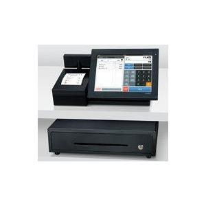 CASIO カシオ計算機 コンパクトレジスター 10.4型タッチパネル液晶 防滴性能 ネットレジサービス ブラック VX-100|keihouse