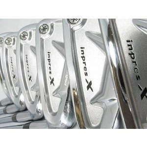 ヤマハ ゴルフ インプレスX Vフォージド アイアン 6本組 (5-PW) ダイナミックゴールド スチールシャフト S200 keihouse