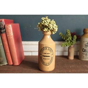 英国(イギリス)アンティークストーンビアボトル/花瓶/一輪挿し/?器陶器(a1900223-9) keihouse