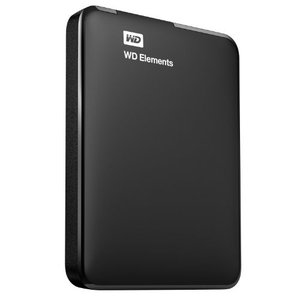 (中古品)WD HDD ポータブル ハードディスク 1TB USB3.0 Elements Port...