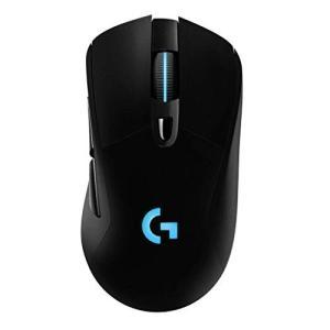 (中古品)Logicool G ゲーミングマウス ワイヤレス G703h ブラック LIGHTSPE...