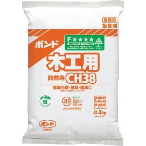 ボンド 木工用 CH38 3kg 6袋|keimotoss