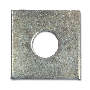 ユニクロ 3/8(角座金)ワッシャー3/8X11(内径)X32(外径)X2.3(厚み)  10枚 keimotoss