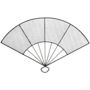 花器・ワイヤー扇子・L・3個セット(全高20.5cm×幅32...