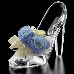 ガラス花器・ガラスのハイヒール(全長13cm×全高10.7cm×全幅5.8cm)(ガラスの靴)(花瓶/花入れ/フラワーベース)(フラワーアレンジメント/ディスプレイ)|keishin|02