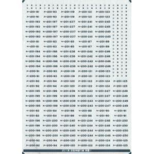 201系 未更新車 車番/表記(京阪神緩行線−通常車(2))【メタリックインレタ〈銀〉】|keishinmokei