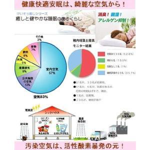 快適安眠、アレルギーサポート【けいそうmakura&ストライプ模様100%日本製綿ピロケース】子供用、沖縄、北海道以外送料無料|keisouseikatu|06